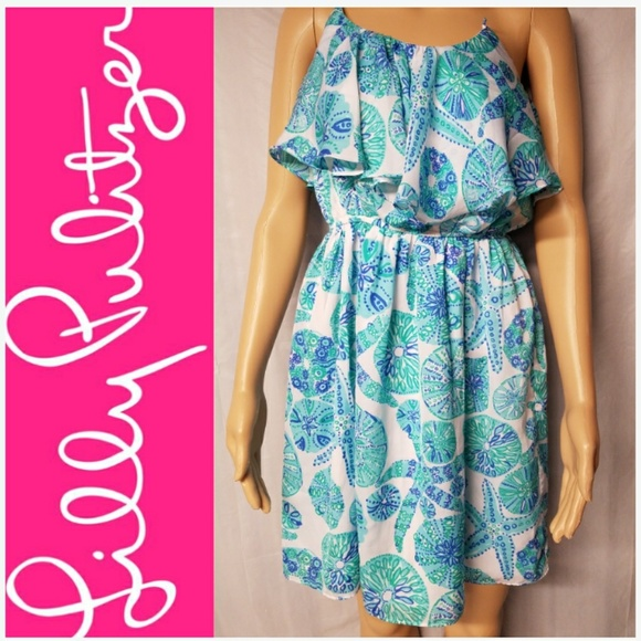 eb8c113583d9ba Lilly Pulitzer for Target Dresses & Skirts - Lilly Pulitzer Starfish & Sand  Dollar Print Dress