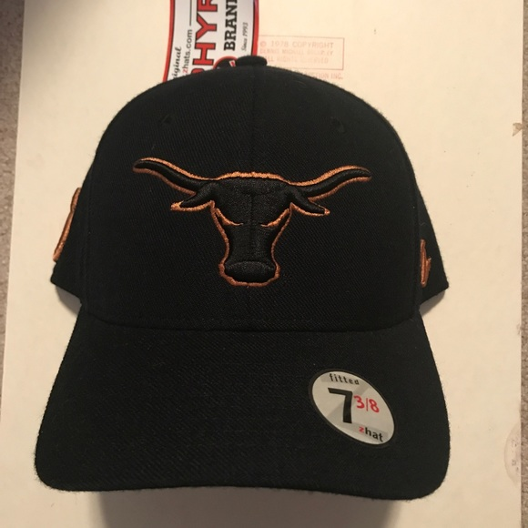 2b7504f9eb3 Texas Longhorns fitted hat size 7 3 8