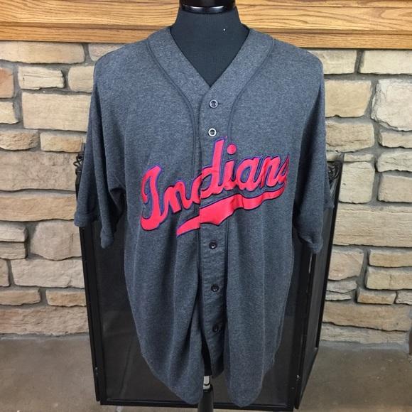 19249624c51 MIRAGE Cleveland Indians Shirt Jersey. M 59f0b20bb4188eebcb010aa3