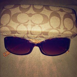 🆕Coach sunglasses & Coach Case