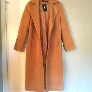 Jackets & Blazers - Camel Trench Coat