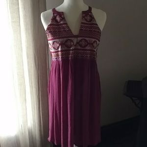 THML embroidered dress, new with tags