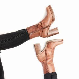 Frye Karma Zip marbled high heel boot