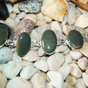 handmade & handcrafted gemstone jewelry Jewelry - Earthy Matte Wild Horse Jasper Bracelet