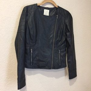 Urban Outfitters pins & needles faux leather Moto