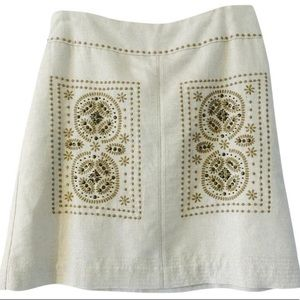 Anthropologie Floreat A line skirt.