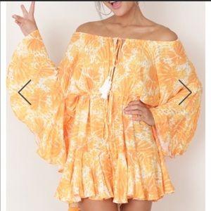 Dresses & Skirts - orange/yellow romp