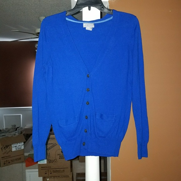 102ab2ad6d8 JCP Blue Sweater. M 59f0be892fd0b7860f014573