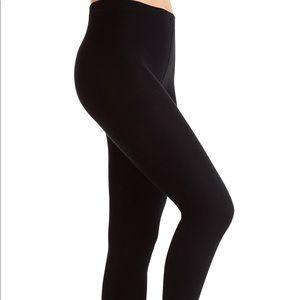 Black fleece lined leggings