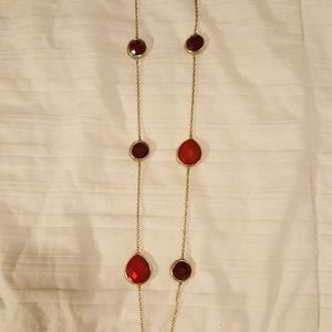 Jewelry - Long red necklace