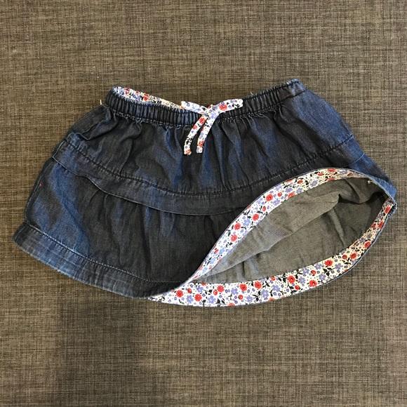 1b687b9e4 Tommy Hilfiger Toddler Girl denim skirt, Size 12m.  M_59f0c0fbb4188e3256014acd