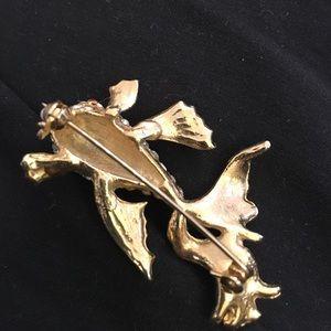 Swarovski Jewelry - Swarovski (unmarked) koi brooch. Gorgeous