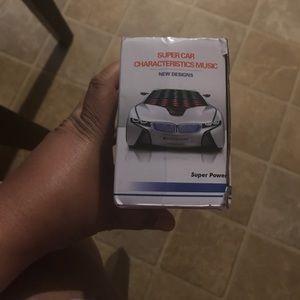 Accessories - 3D super car