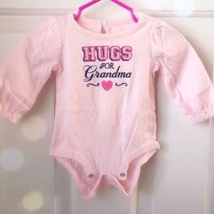 'HUGS FOR Grandma' Bodysuit!