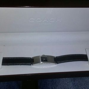 Women's coach wristwatch