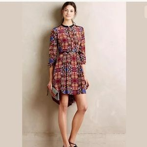 Anthropoligie Carolina k Averil dress small flaws
