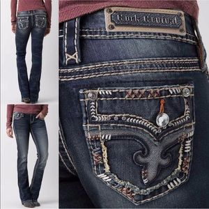 Rock Revival Low Rise Betty Bootcut Jeans FIRM$