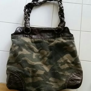 Womens camouflage purse