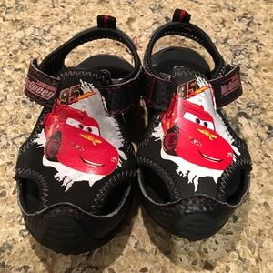 5/$20 Disney cars sport sandals toddler 5