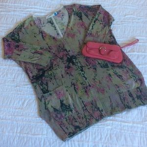 Anthropologie Sparrow Claver Caftan Sweater Tunic