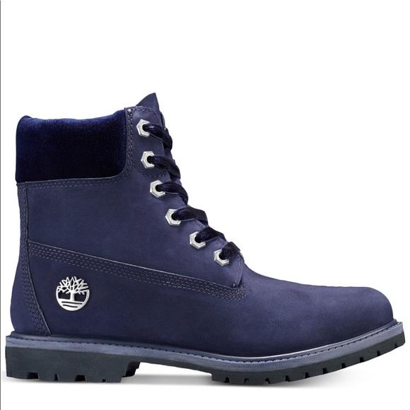"Timberland Shoes - 6"" Waterproof Premium Boots Blue"