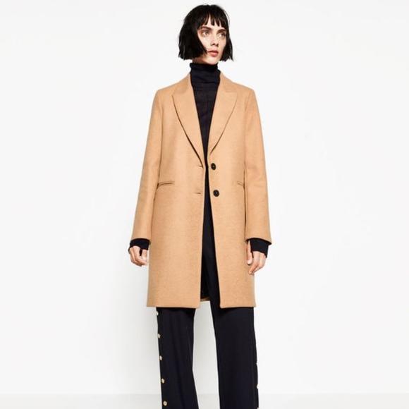 8ca34f9c Zara Jackets & Coats | Beige Masculine Coat Size S | Poshmark
