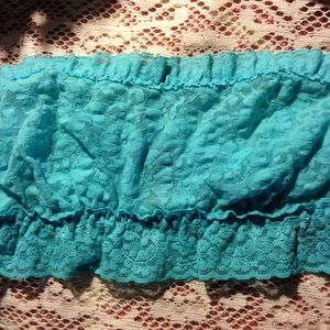 Other - Turquoise Lace Bandeau