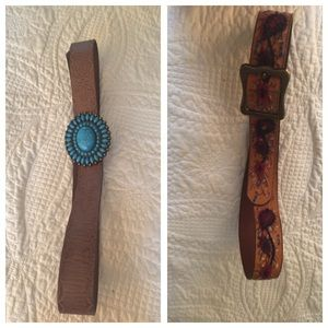 Lucky brand belts Large $20 Each both for $30