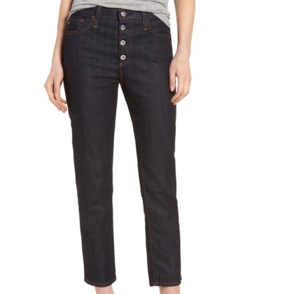 Ag Adriano Goldschmied Denim - Isabelle High Waist Ankle Jeans