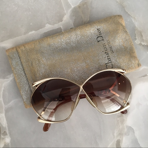 306511be27d Christian Dior Accessories - 70s VINTAGE CHRISTIAN DIOR Butterfly Sunglasses