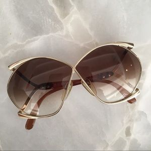 a3bdc9a056b Christian Dior Accessories - 70s VINTAGE CHRISTIAN DIOR Butterfly Sunglasses