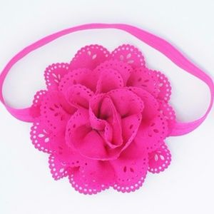 Other - 🔴 5/$15 2xHP🎉 Girls Solid Color Flower Headband