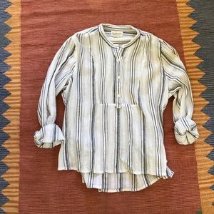 Ralph Lauren Denim and Supply striped cotton shirt