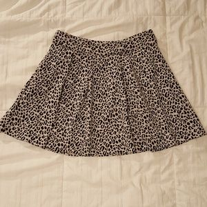 Cute Animal Print Skater Skirt from UO