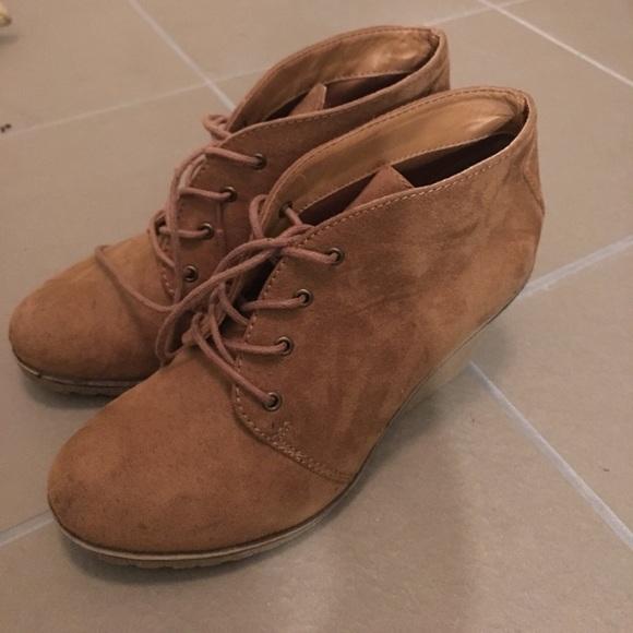 306121563b1 Xappeal Shoes - Wedge Booties