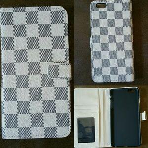 iPhone 6 Plus Case: Luxury Deluxe Grid