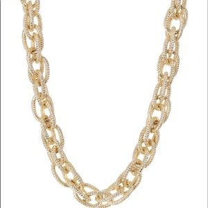 Gold Crystal Chain