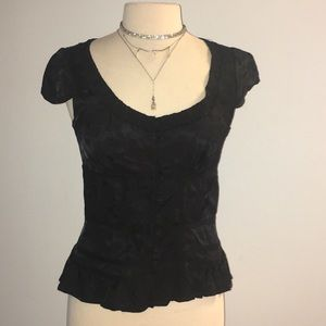 Marc Jacobs Tops - NWOT Marc Jacobs Black Button Up Blouse Size 4