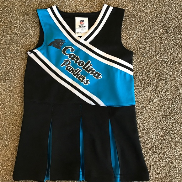 3T Panthers cheerleader outfit fd7b05b40