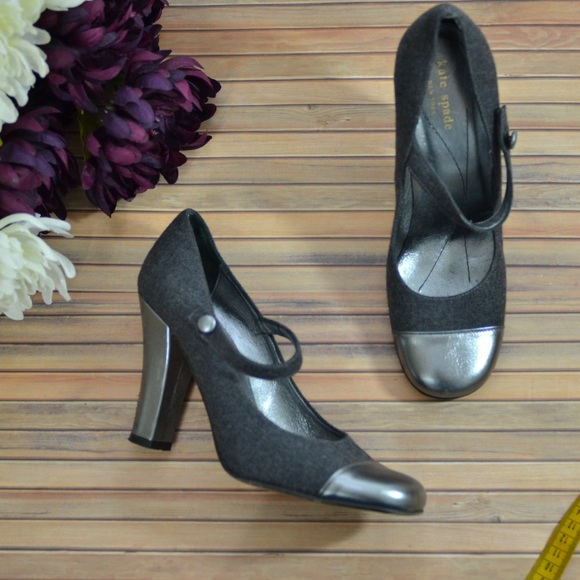 3b64b20a866b kate spade Shoes - Kate Spade Mixed Media Cap Toe Maryjane Pumps