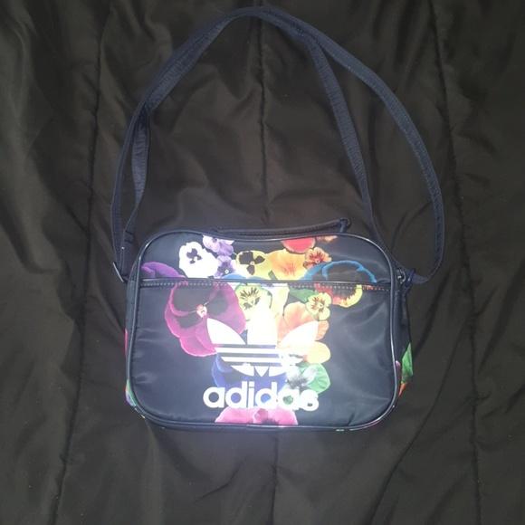a788a92e908 adidas Bags   Floral Theme Crossbody Bag One Size   Poshmark