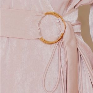 Sabo Skirt Dresses - Saboluxe A List Wrap Dress in Delicate Blush