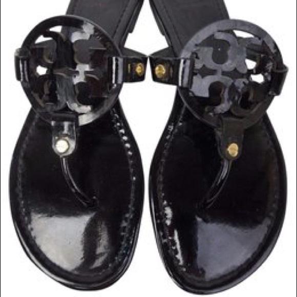 84dc2fed70119 tory burch miller sandals size 11. M 59f0dee2bcd4a762b501cece