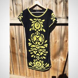 International Concepts Black Shift/Sheath Dress