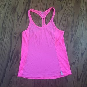 Tops - Pink under armour workout tank
