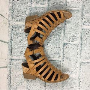 497ea936819c White Mountain Shoes - White Mountain Tan Sella Strappy High Heel Sandals