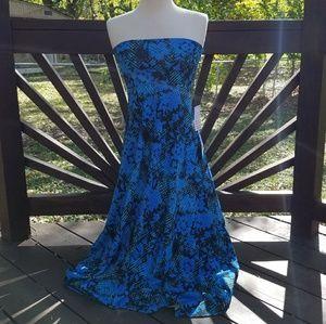 LuLaRoe Floral Maxi Skirt/Dress