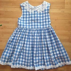 Other - Girls Dorothy Gingham Dress or Costume