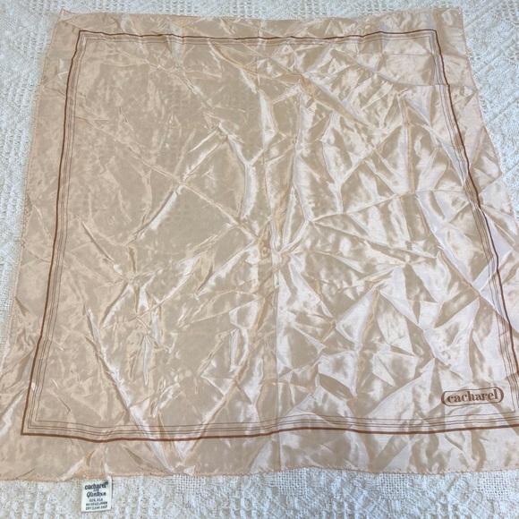 5d48d0733f cacharel Accessories | Vintage Silk Scarf Size 20 12 X 20 12 | Poshmark