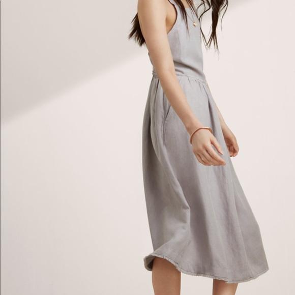6757c99106 Aritzia Dresses   Skirts - Wilfred Hymne Dress in Ashen linen